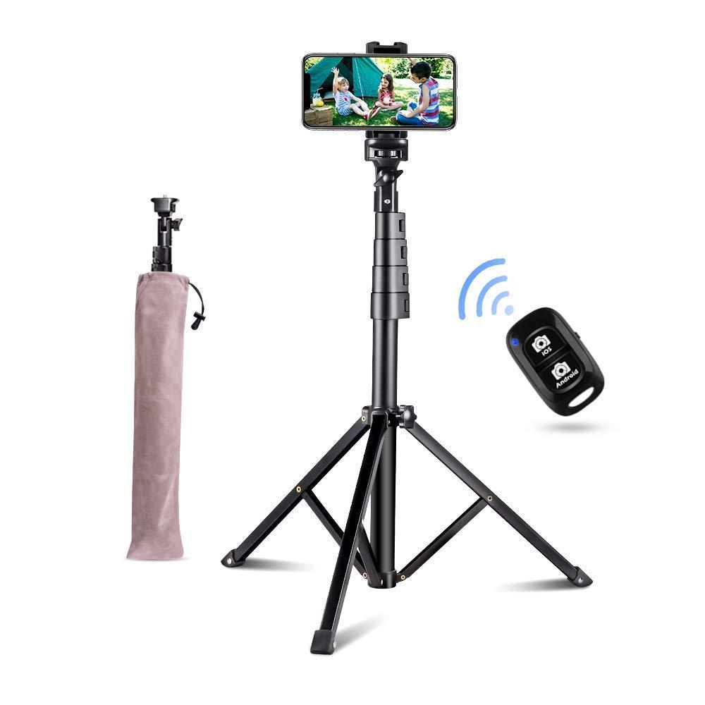 Selfie Stick Tripod UBeesize 51 Extendable Tripod Stand