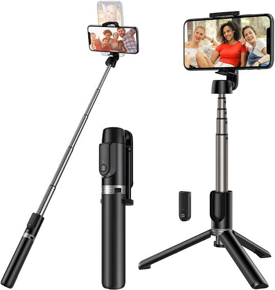 Yoozon Extendable Selfie Stick with Wireless Remote and Tripod Stand