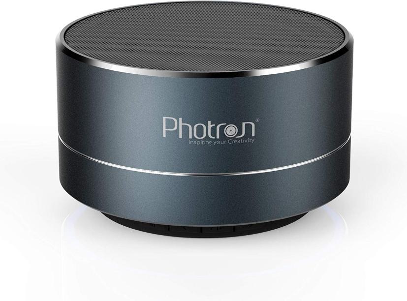 Photron P10 Wireless 3W Super Bass Mini Metal Aluminum Alloy Portable Bluetooth